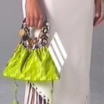 The Attico bag suit magazine