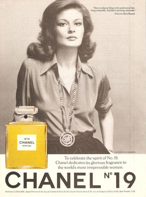 Chanel vintage campaign