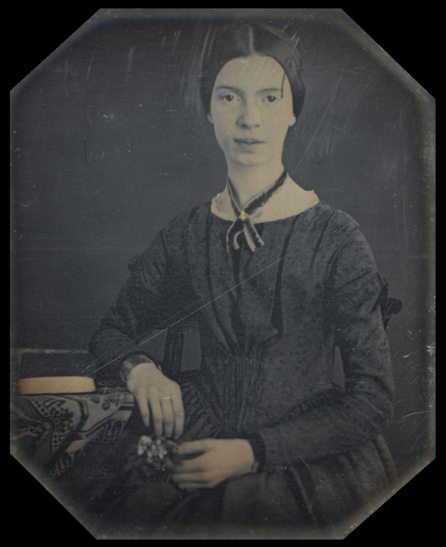 Emily Dickinson a los 16 años
