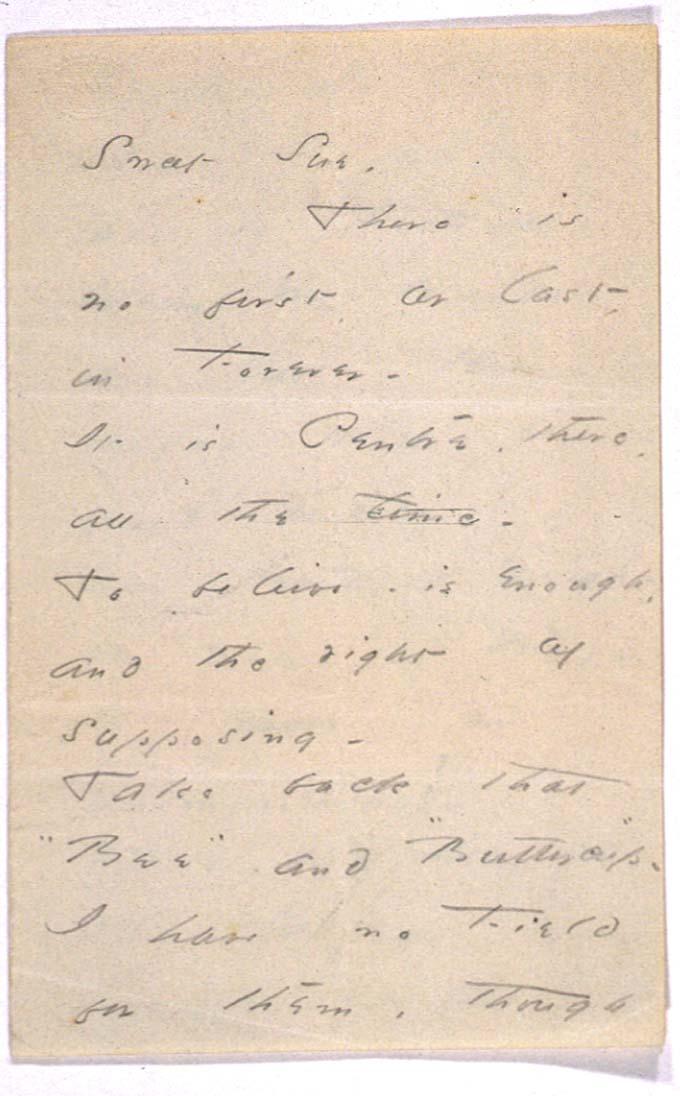 Carta a Sue 1864