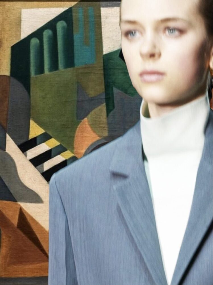 moda y arte4 Jil Sander y Maria Blanchard