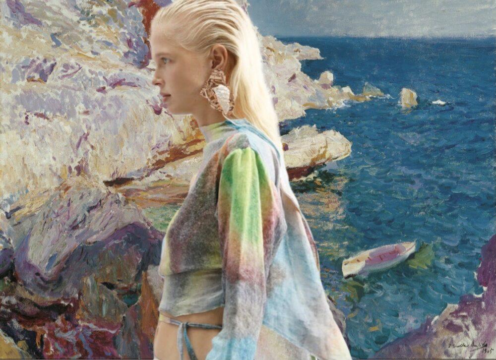 moda y arte Acne Studios y Sorolla