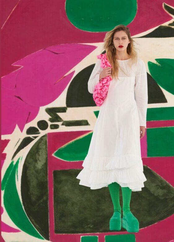 moda y arte Lee Krasner y Molly Goddard
