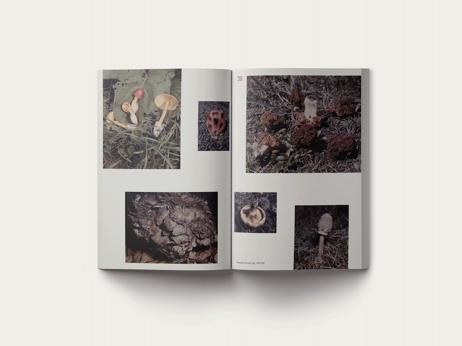 John Cage, A Mycological Foray, Atelier Éditions