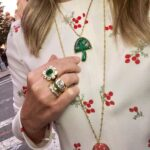 Magic Mushroom necklace, Brent Neale