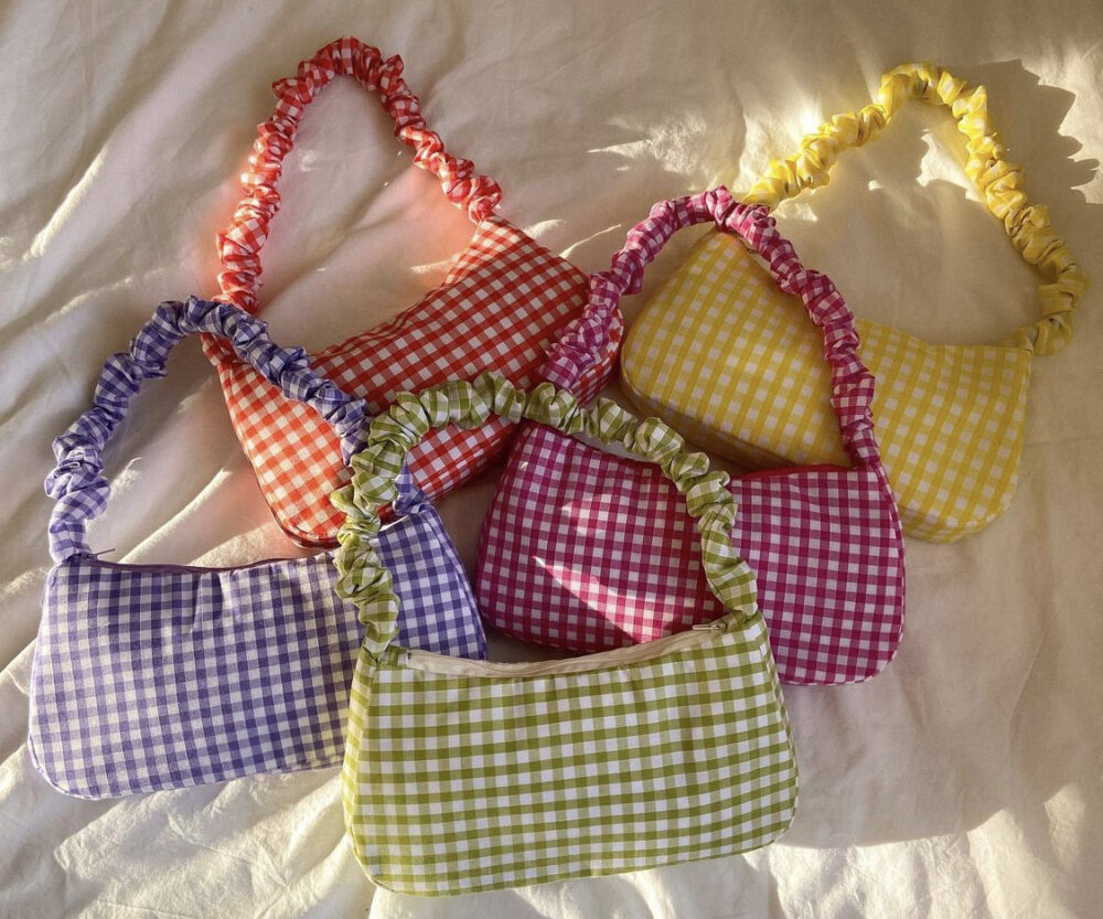 Eliza Carley limited edition Gingham bags